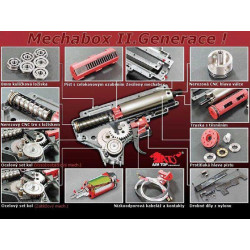 Complet gearbox M150 - handguard wire set