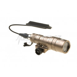 LED svítilna M300B Mini Scoutlight - písková