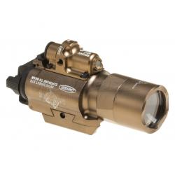 LED svítilna X400U s laserem - písková