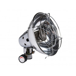 RADIANT HEATER FOR GAS CARTRIDGE