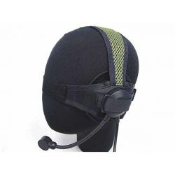 Taktický headset TASC, olivový