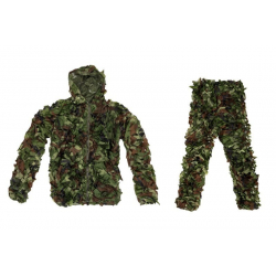 Ghillie Suit Camouflage Set - Woodland