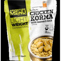 Lightweight Chicken Korma with Basmati rice 400g