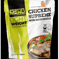 Lightweight Chicken supreme with ratatouille 400g