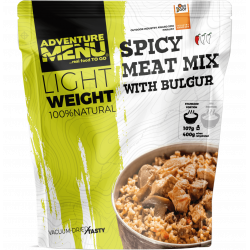 Lightweight Spicy meat mix with bulgur 400g