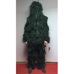 Ghillie Suit Camouflage Set - Woodland III.