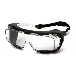 Protective goggles Cappture ES9910STMRG with Rubber Gasket, anti-fog - clear