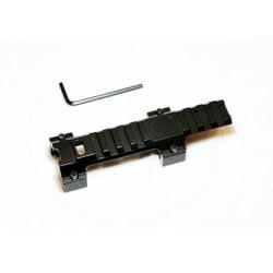 Montáž optiky pro H&K MP5 / G3 - nízkoprofilová