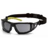 Ochranné brýle Fyxate ESGL10220STMFP, nemlživé - tmavé