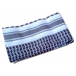 Scarf SHEMAG black-white