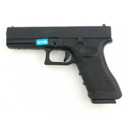 R17 (G001A-B) Gen3, metal slide, GBB, black - CZ flag