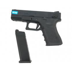 R23 (G004A-B) Gen3 - kovový závěr, černý, blowback