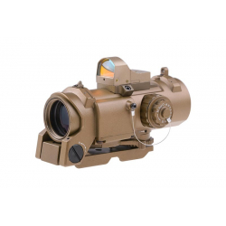 CM SPECTER S-DR 1-4X 32F Scope with Micro Red Dot Sight ( TAN )