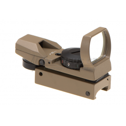 RDG Multi Reticle Red Dot 20x33 mm, red - TAN