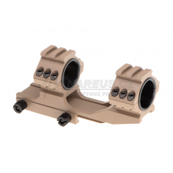 Double Top Rail 25.4mm / 30mm Mount Rings - TAN