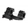 Double Tri-Side Rail 25.4mm / 30mm Mount Rings - Black