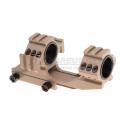 Double Tri-Side Rail 25.4mm / 30mm Mount Rings - TAN