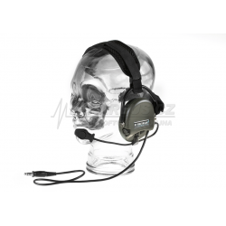 Taktický headset SORDIN (do helmy) , olivový