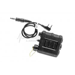 Zinvisio X50 PTT spínač s Kenwood - 2pin kabelem