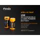 Charging battery Fenix RCR123A / 16340 High Current (Li-ion)