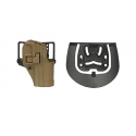 Holster Blackhawk SERPA CQC/H&K USP-L and P-09 right side - Coyote