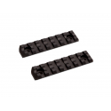 M-Lok Rail Short - 7 slots 2pcs/set
