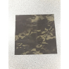Adhesive camouflage cloth - Multicam Black