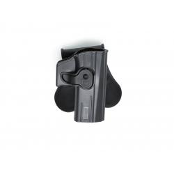 Holster / SERPA pro CZ CZ P-07 a CZ P-09 pro praváky, černá