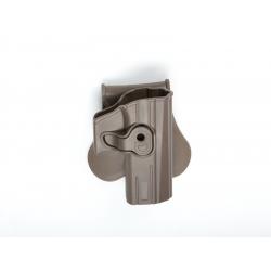 Holster / SERPA pro CZ CZ P-07 a CZ P-09 pro praváky, pískový