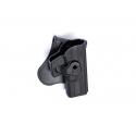 Holster, Glock models, Polymer, Black