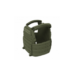 Warrior DCS Plate Carrier Base Only, BLACK, Size L
