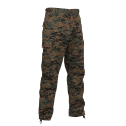 Pants BDU POLY / COTTON WOODLAND DIGITAL