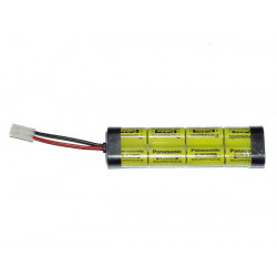 Battery 9,6V / 1850mAh NiCd L-type