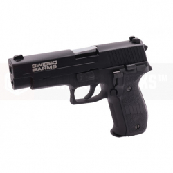 Swiss Arms P226 (without Rails), Metal, blowback (CyberGun Licensed)