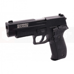 Swiss Arms P226 (with Rails), Metal, blowback (CyberGun Licensed)