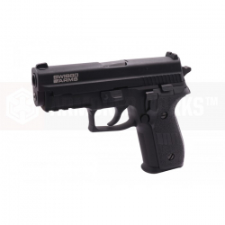 Swiss Arms P229 (with Rails), Metal, blowback (CyberGun Licensed)