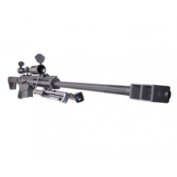 Snow Wolf M82A1 / SW02A with scope, Full Metal AEG ( BK )
