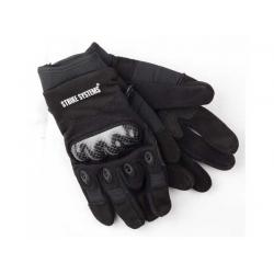 Kevlarové rukavice černé s chráničem kloubů ,L