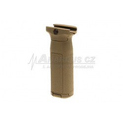 PTS EPF2 Vertical Foregrip With AEG Battery Storage ( Dark Earth )