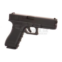 Glock 17 Gen4 - Metal slide, GBB - BLACK (Glock Licensed)