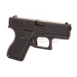 Glock 42 - Metal slide, GBB - BLACK (Glock Licensed)