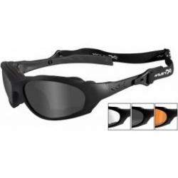 Goggles XL-1 ADVANCED Smoke Grey + Clear + Light Rust/Matte Black