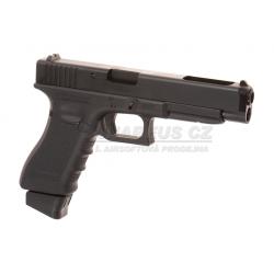 Glock 34 Gen 4 Deluxe Version Co2 - kovový závěr, blowback (Glock Licensed)