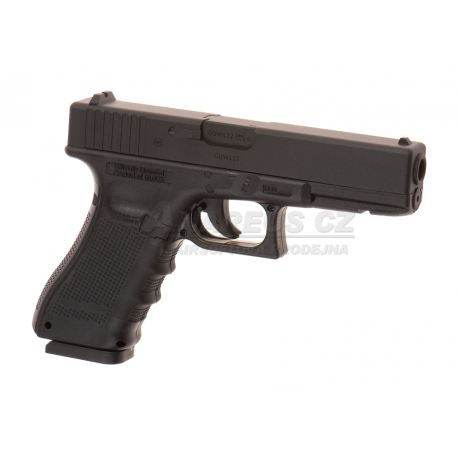 Glock 22 Gen4 CO2 - Metal slide, GBB - BLACK (Glock Licensed)