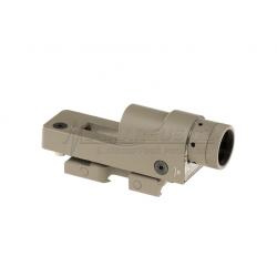 AIM-O 1x24 Reflex Sight, red dot sight - TAN