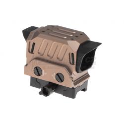 Kolimátor EG1, červené podsvícení, pískový