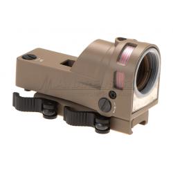 Kolimátor M21 Reflex Sight, červené podsvícení, pískový