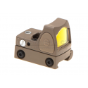 LED RMR Red Dot Adjustable - Desert