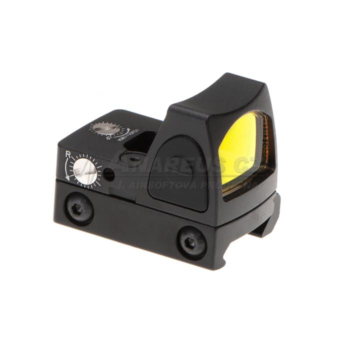 LED RMR Red Dot Adjustable - BLACK