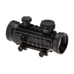 1x30 Red Dot - BLACK